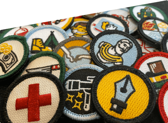 platform badges